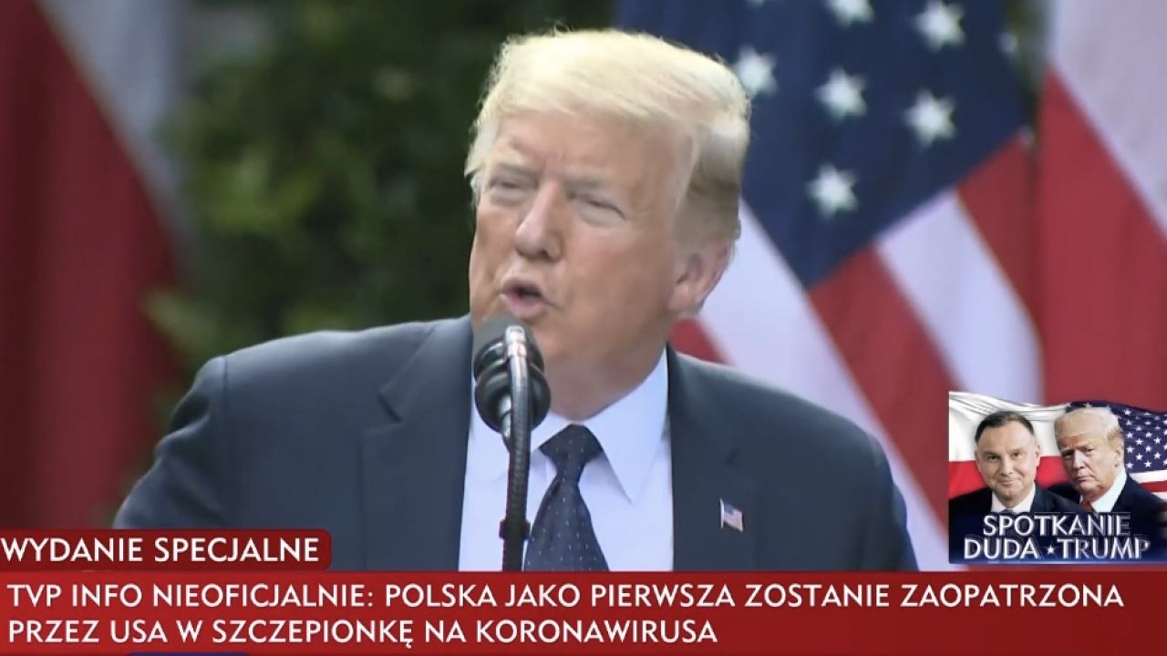 Informację podało TVP Info (fot. TVP Info)