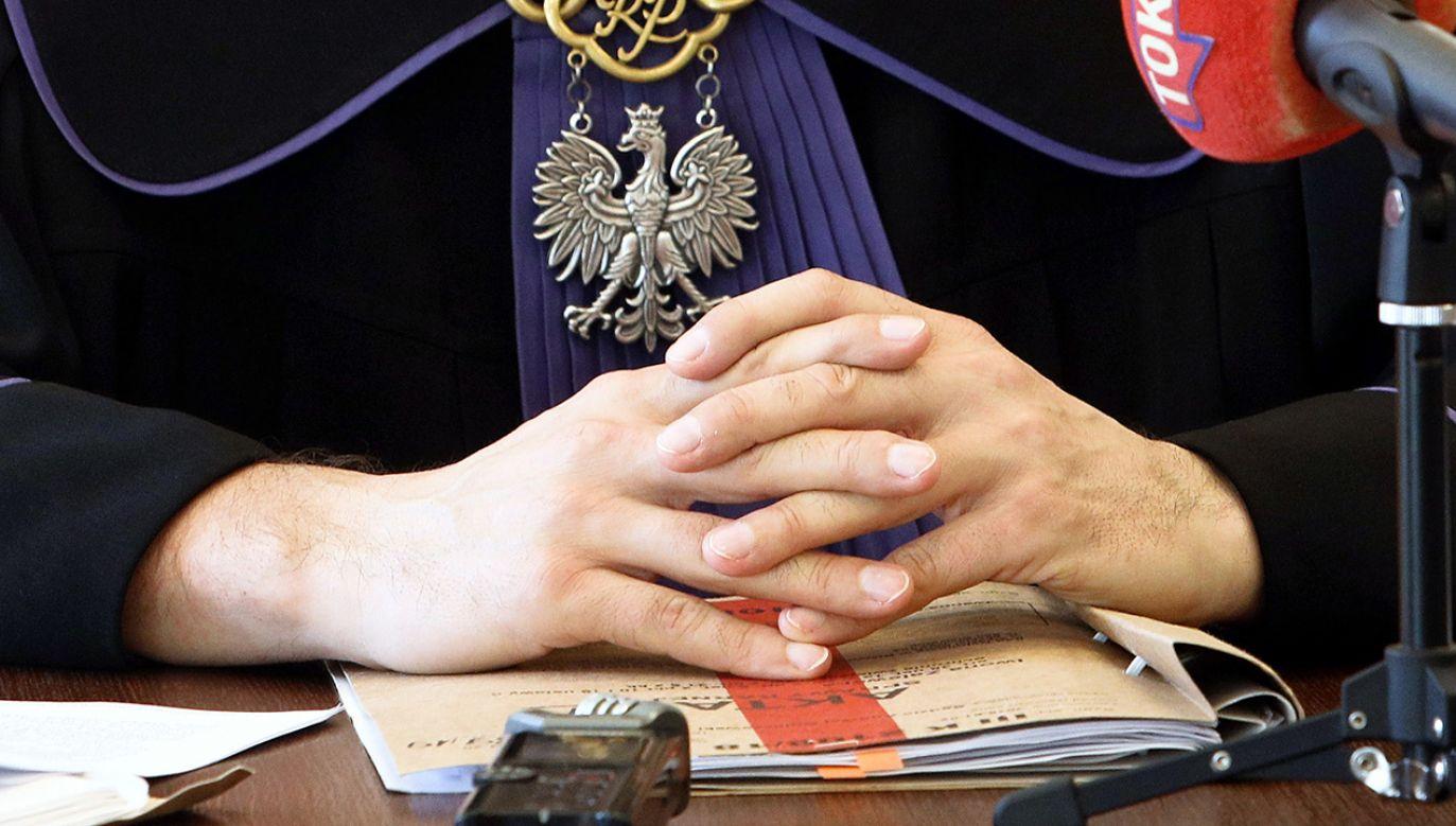 Areszt tymczasowy na trzy miesiące sąd zastosował na posiedzeniu w szpitalu w Toruniu, gdzie kobieta przebywa od wypadku (fot. PAP/Artur Reszko)