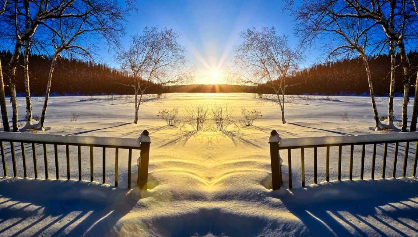 W woj. warmińsko-mazurskim nadal zima (fot. Pixabay/mohamed_hassan)