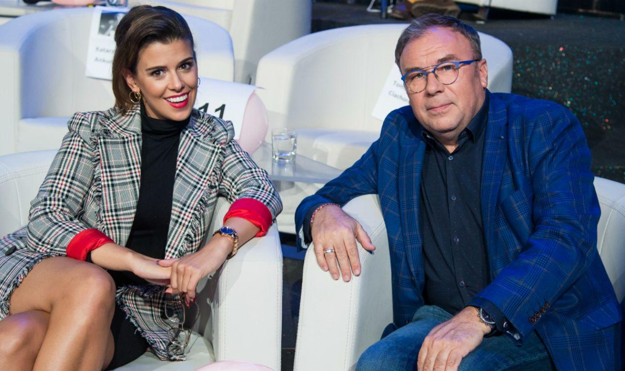 Monika Mazur i Bogdan Kalus zręcznie omijali pułapki zawarte w pytaniach. A te były naprawdę niełatwe (fot. J. Bogacz/TVP)