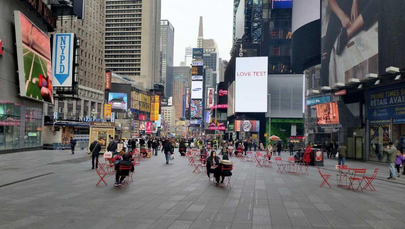 Na najbardziej zainfekowanych terenach Nowego Jorku przeprowadzono w piątek blisko 20 tys. testów (fot. Photos2Use)
