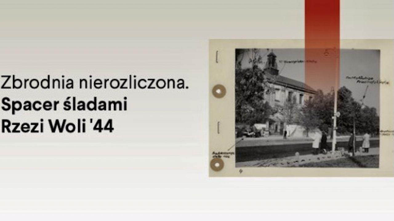Rzeź mieszkańców Woli trwała od 5 do 7 sierpnia 1944 r. (fot. Instytut Pileckiego)