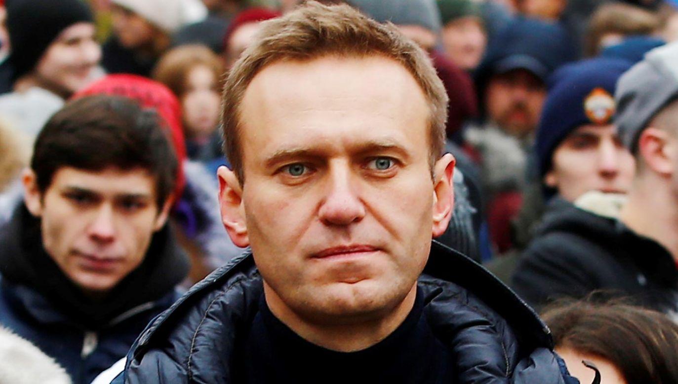 Aleksiej Nawalny sprzeciwił się Władimirowi Putinowi (fot. Sefa Karacan/Anadolu Agency/Getty Images)