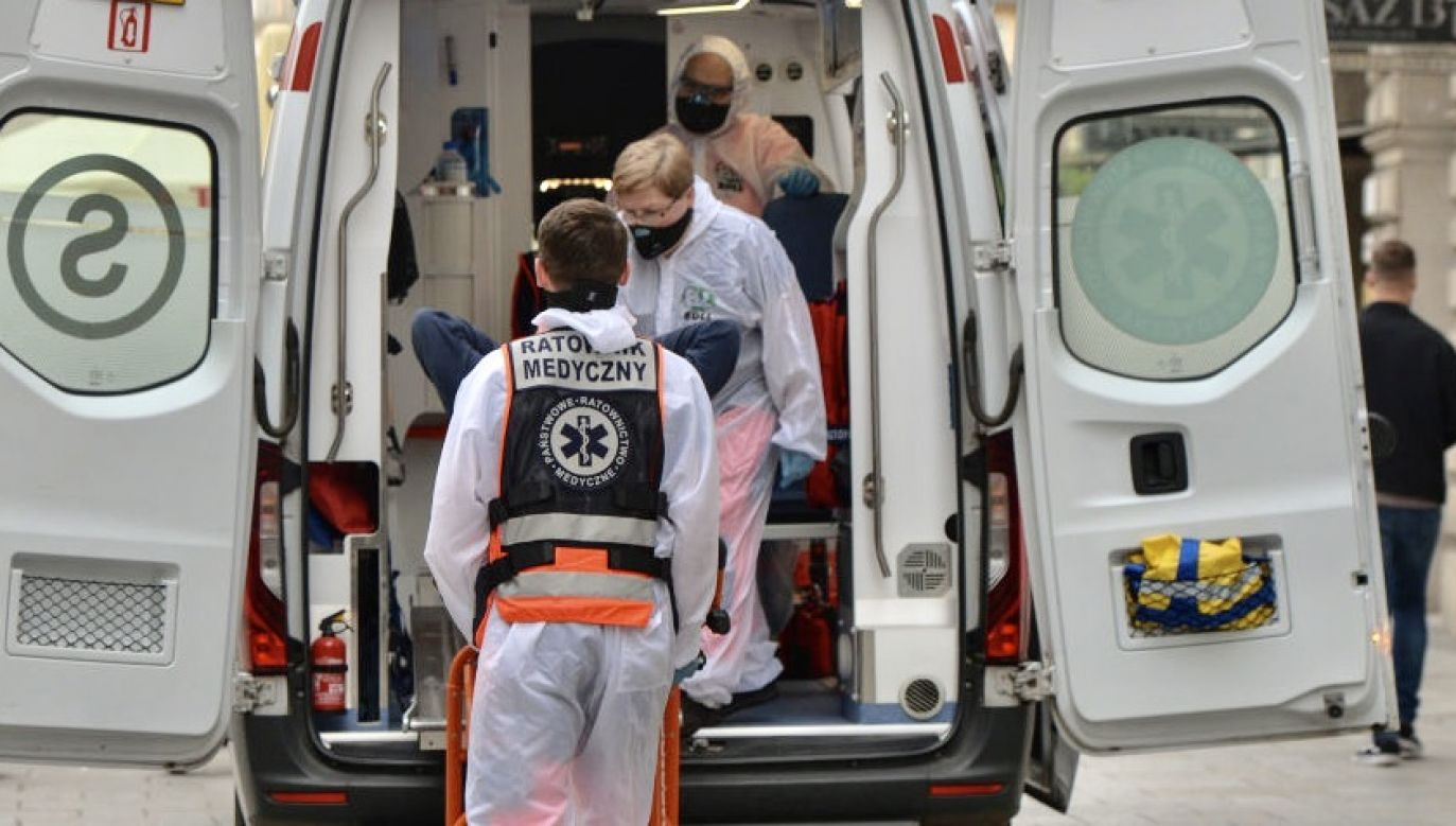 Według otrzymanych informacji, burmistrz Tomasz Kucharski ma koronawirusa, ale czuje się dobrze fot.  Artur Widak/NurPhoto via Getty Images, zdjęcie ilustracyjne)