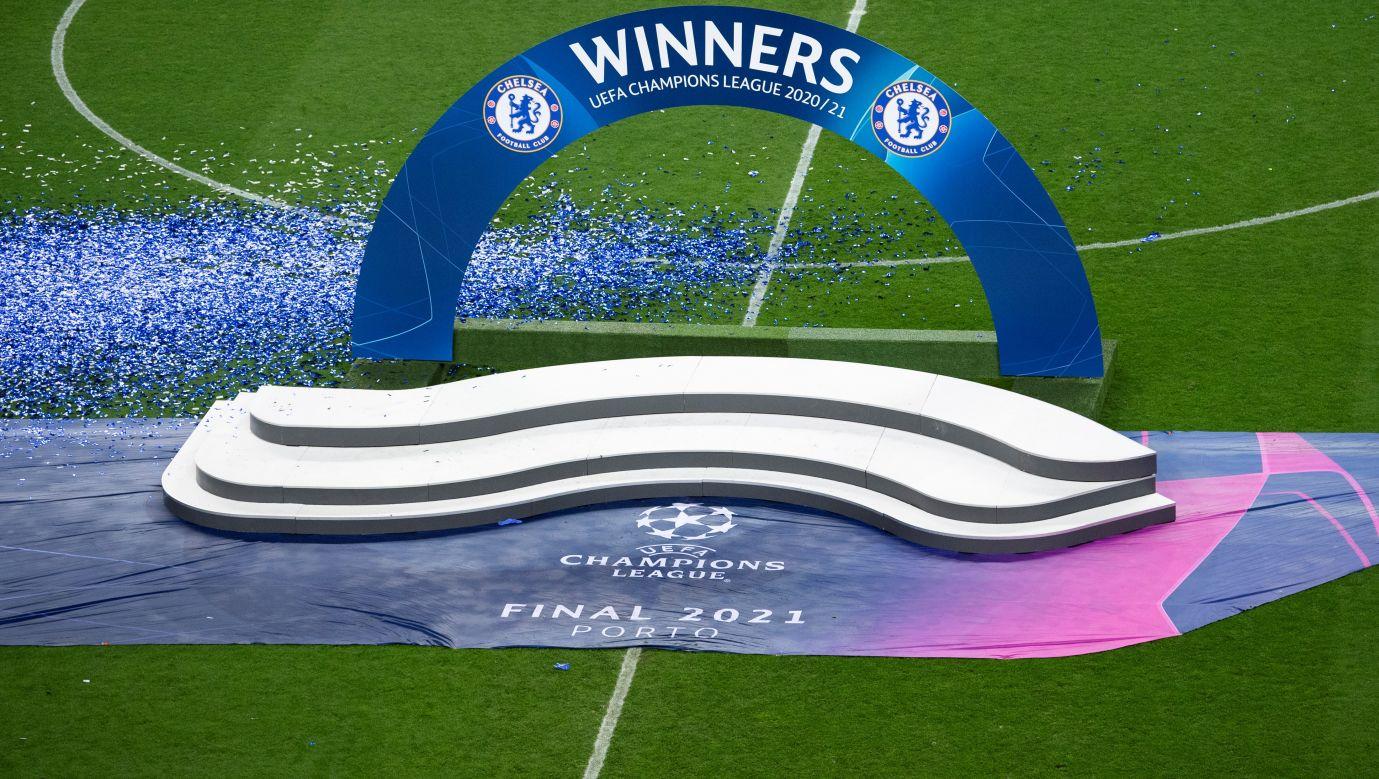 Czy rozgrywany w Porto w 2021 roku finał Ligi Mistrzów między Manchesterem City a Chelsea był ostatnim z tej serii? Czy najwyższe rogrywki europejskie zastąpi niebawem Superliga? Fot. Visionhaus/Getty Images