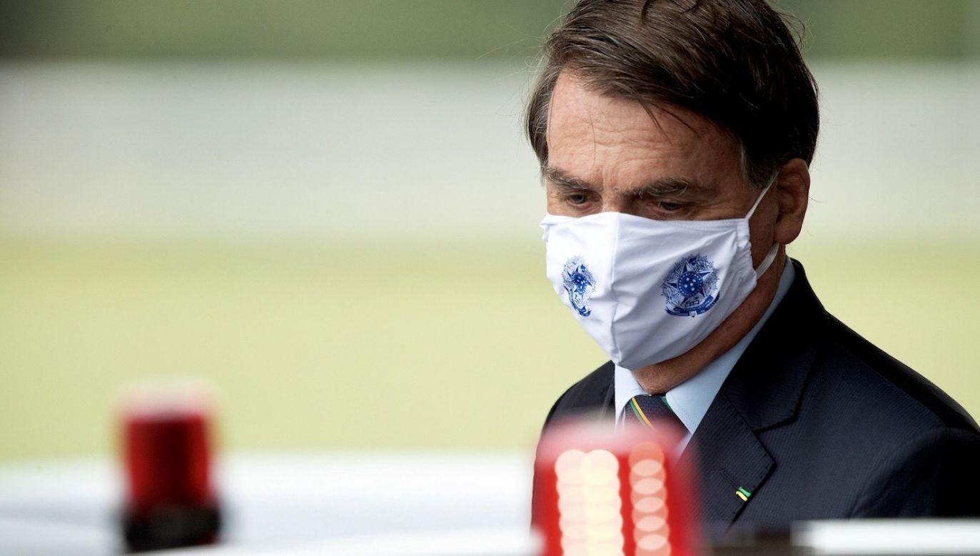 Liczba zgonów z powodu COVID-19 przekroczyła w Brazylii 20 tysięcy (fot. PAP/EPA/JOEDSON ALVES)