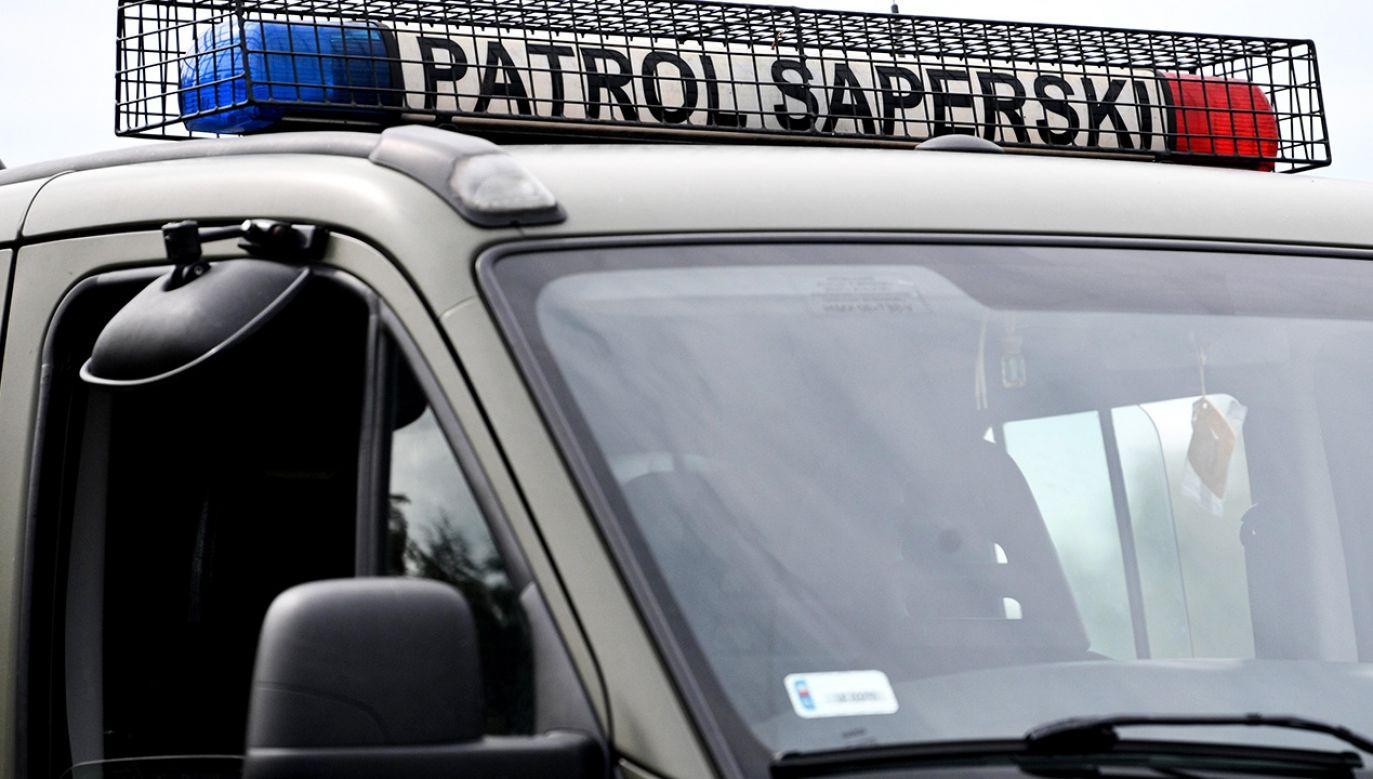 Trzeba było ewakuować 12 osób z budynku z naprzeciwka (fot. arch. PAP/Darek Delmanowicz)