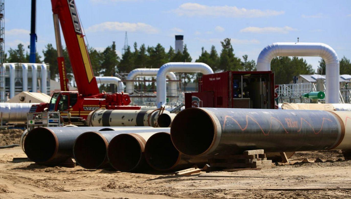 Eksploatacja rurociągu może stwarzać długotrwałe zagrożenie dla klimatu (fot. Krisztian Bocsi/Bloomberg via Getty Images)