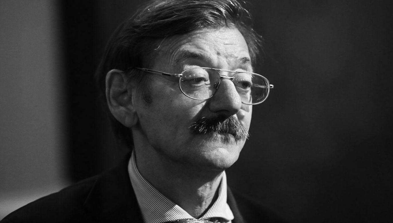 Jerzy Targalski miał 69 lat (fot. PAP/Rafał Guz)