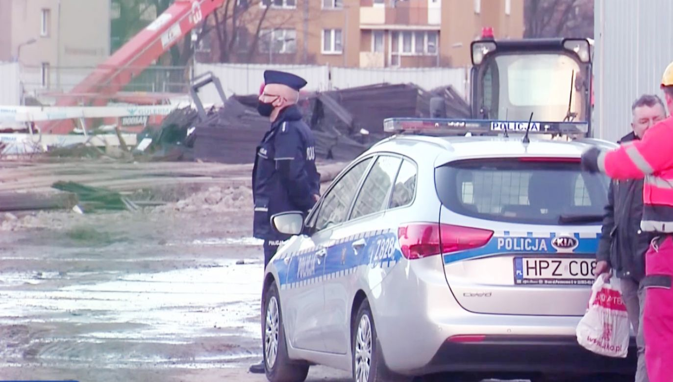 Zginęła jedna osoba (fot.TVP Info)