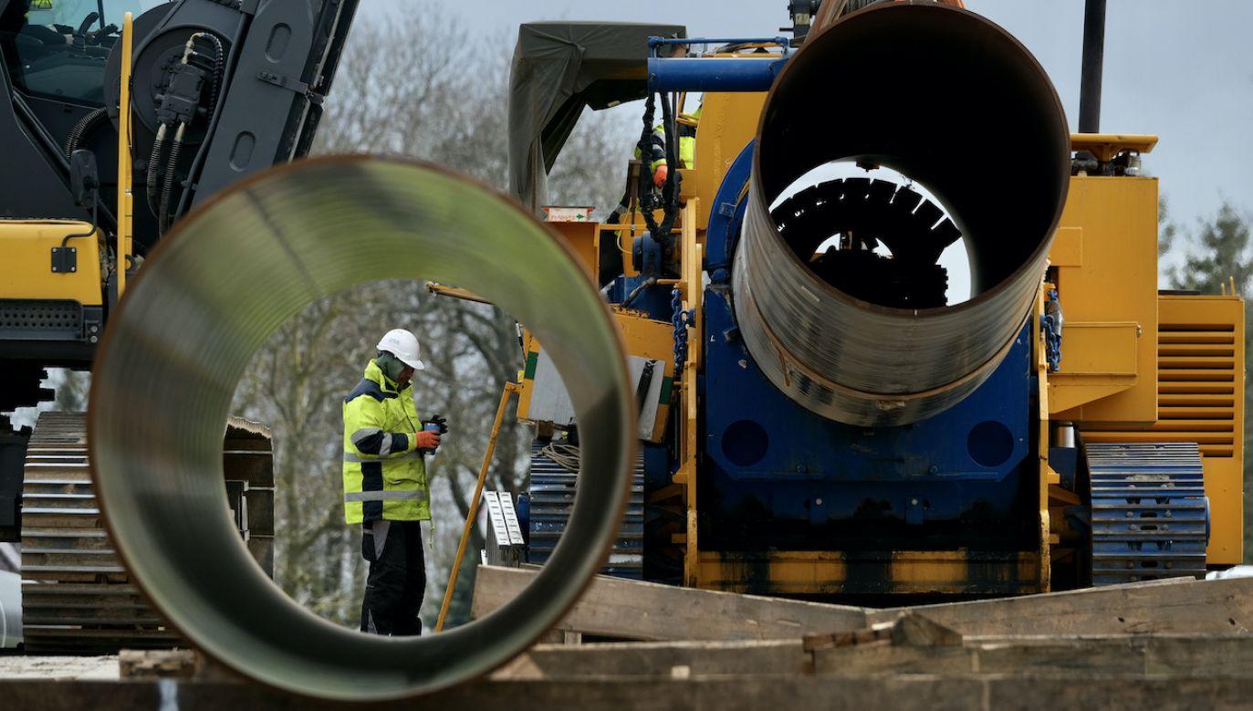 Nord Stream 2 jest prawie gotowy (fot. Sean Gallup/Getty Images)