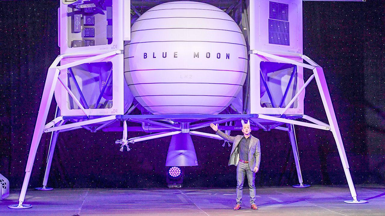 Kosmiczny wyścig miliarderów (fot. Jonathan Newton / The Washington Post via Getty Images)
