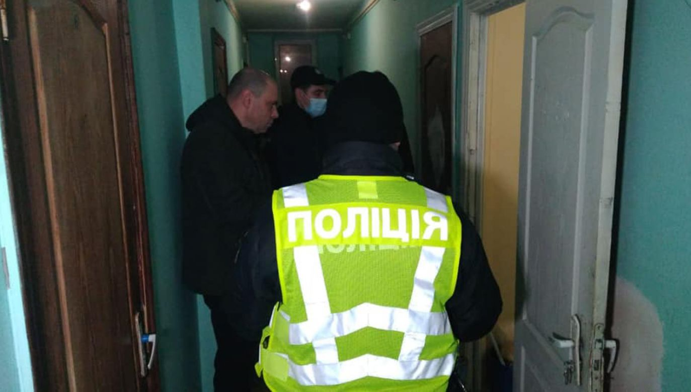 Kijowska policja ustala przyczyny wybuchu (fot. źródło: Facebook/Policja w Kijowie)