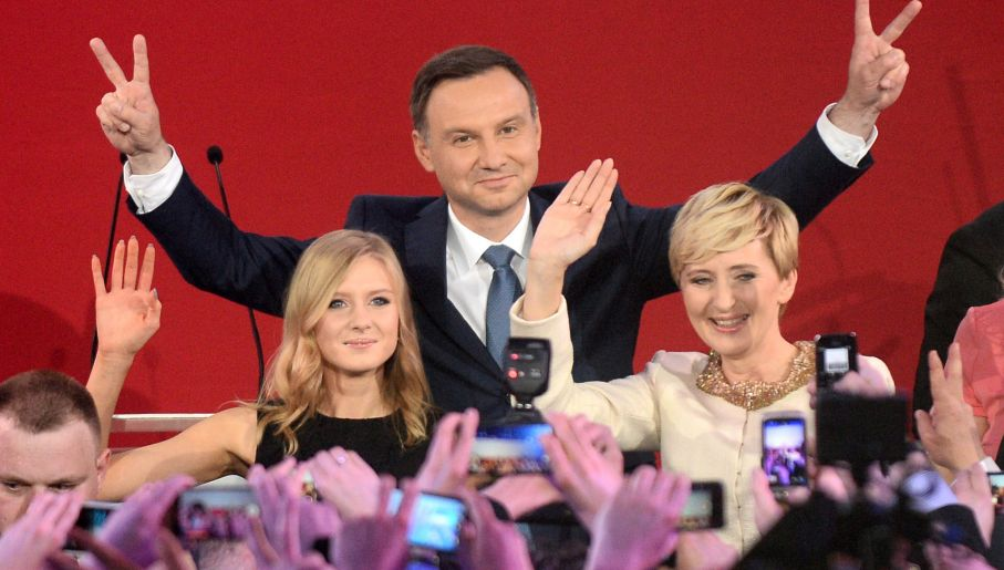 Andrzej Duda lubi pierogi i książki (fot. PAP/B/Zborowski)