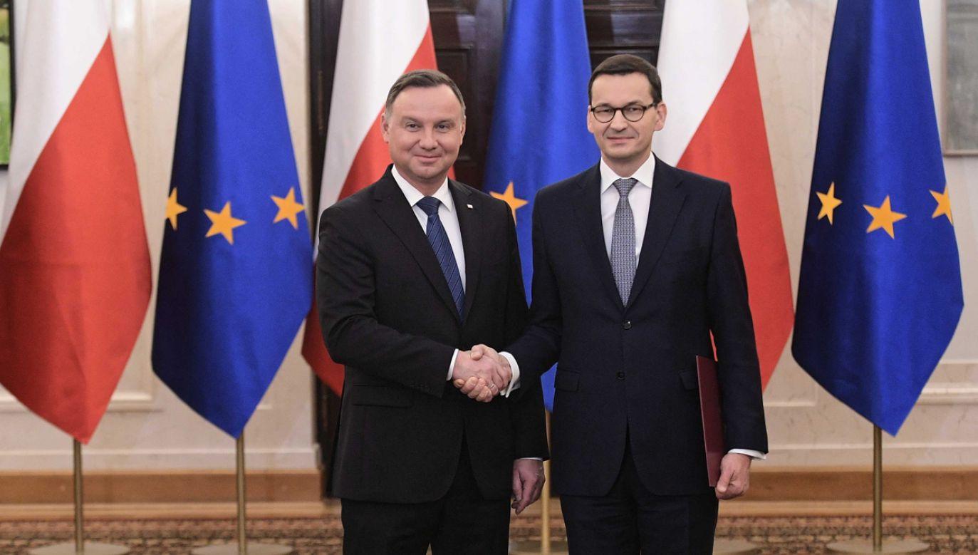 Uroczystość odbędzie się o godzinie 14.30 w Pałacu Prezydenckim (fot. PAP/Marcin Obara)