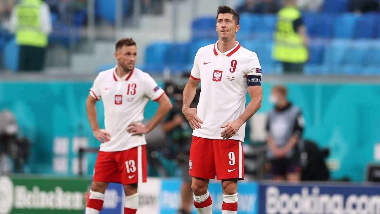 Robert Lewandowski był jednym z najgorszych polskich piłkarzy na boisku (fot. Getty Images)