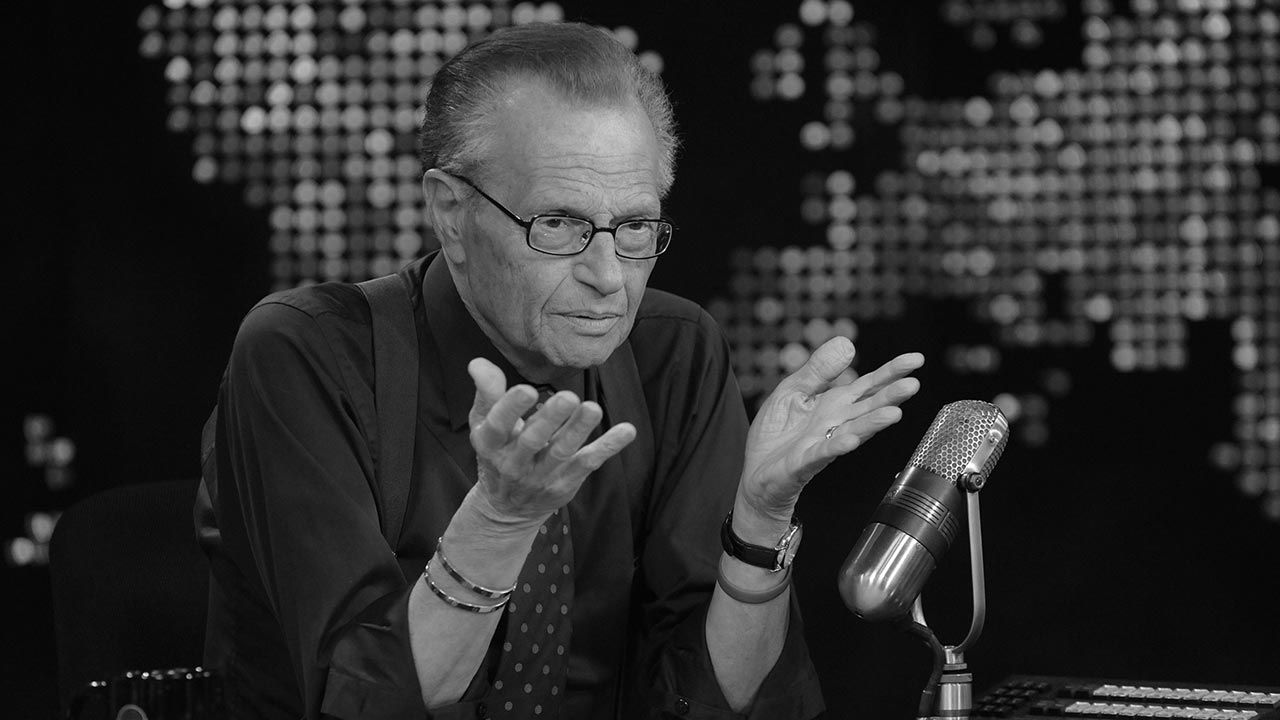 Larry King (fot. GettyImages)