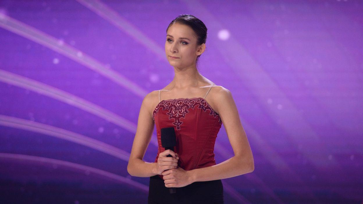 Dla Julii zatrzymał się czas, a jurorzy byli pod wrażeniem jej umiejętności klasycznych i operowania tańcem współczesnym (fot. Jan Bogacz)
