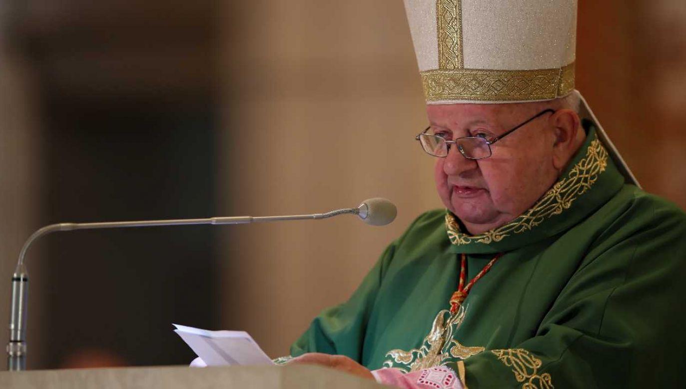 Abp senior archidiecezji krakowskiej kard. Stanisław Dziwisz (fot. PAP/Łukasz Gągulski)