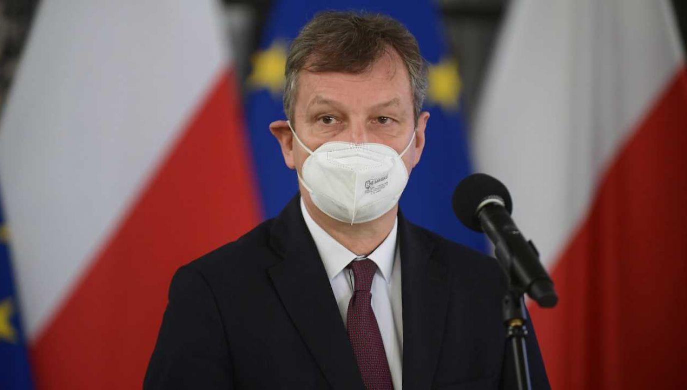 Europoseł Andrzej Halicki (fot.  PAP/Marcin Obara)