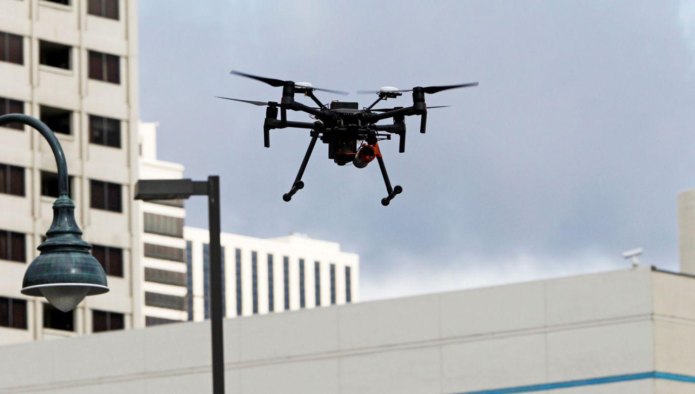 Dron NASA. Zdjęcie ilustracyjne (fot. REUTERS/Bob Strong)
