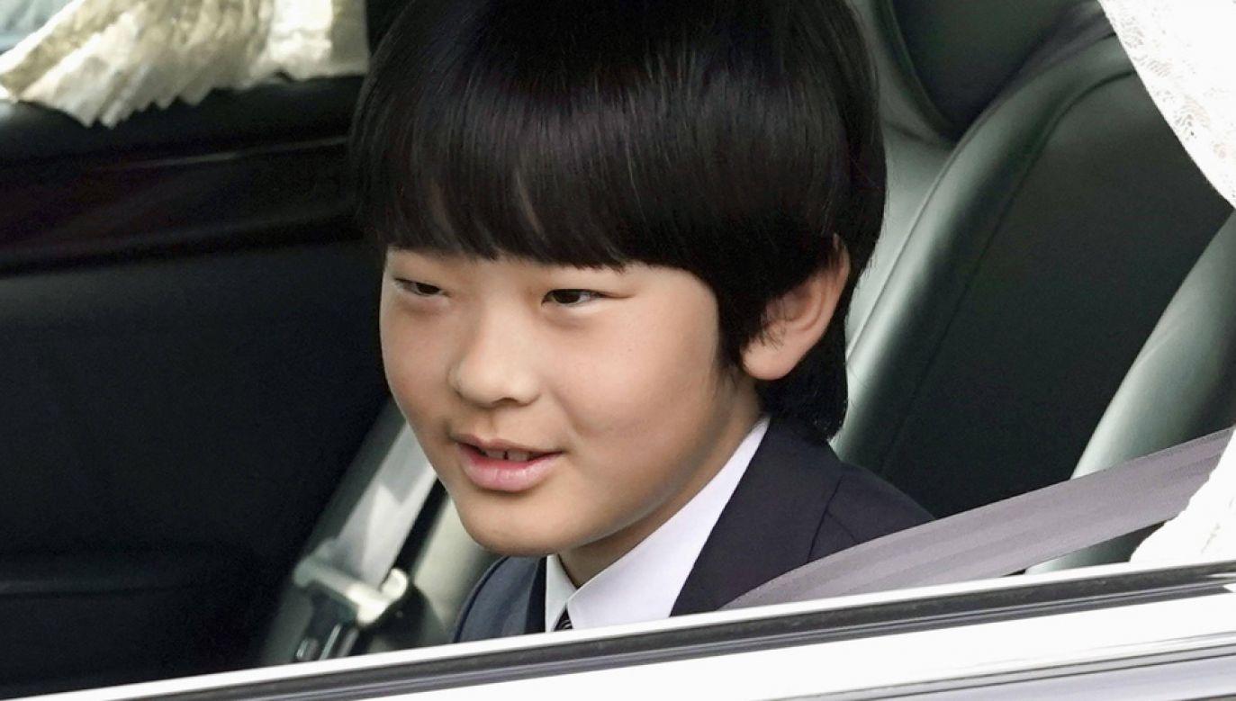 Książę Hisahito jest drugi w kolejce do Chryzantemowego Tronu (fot. arch.PAP/Newscom)