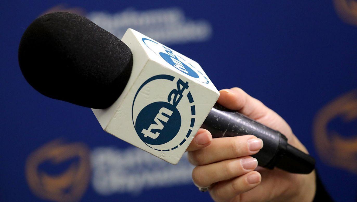 Jak opowiada dziennikarz, kobieta podała się za pracownicę TVN24 (fot. arch.PAP/Tomasz Gzell)
