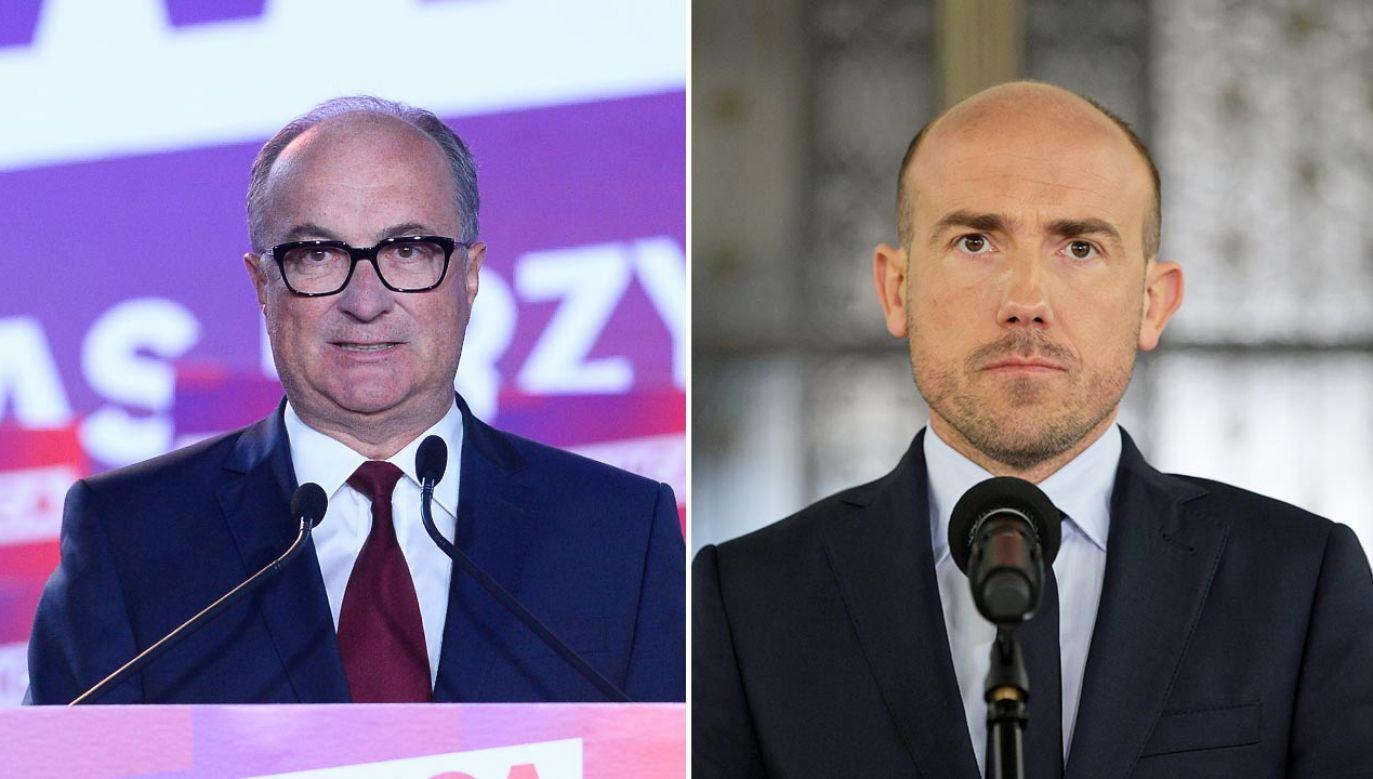 Liderzy Lewicy i PO przerzucają się oskarżeniami o wynik wyborów prezydenckich (fot. Omar Marques/Getty Images; PAP/Mateusz Marek)