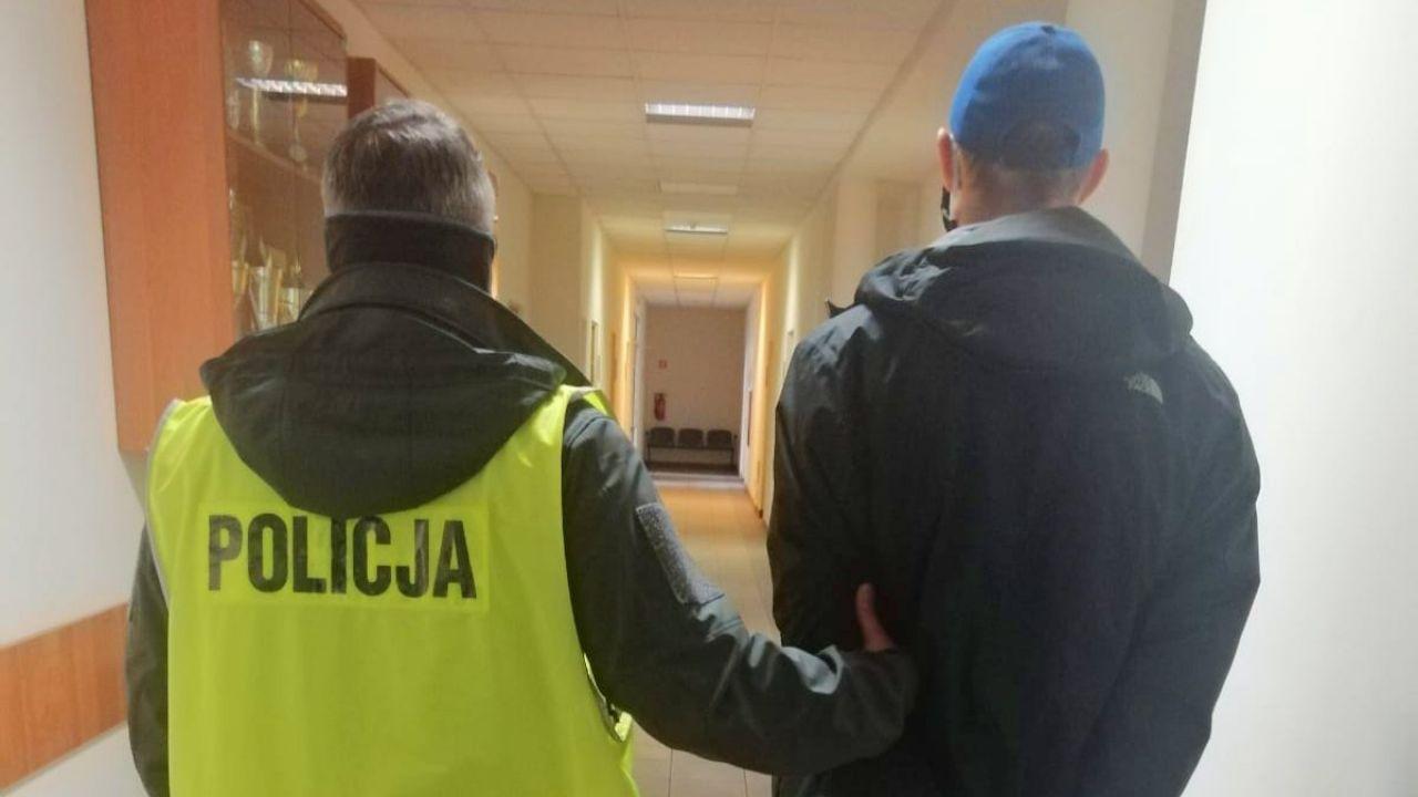 29-latkowi grozi 10 lat za kratkami (fot. Komenda Miejska Policji w Bydgoszczy)