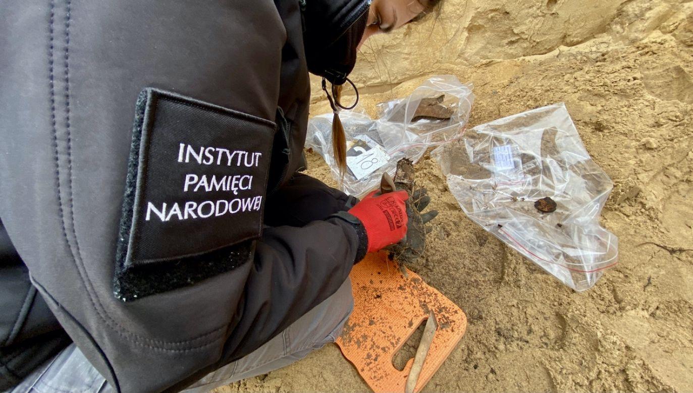 IPN od wielu lat prowadzi poszukiwania tajnych miejsc pochówku ofiar reżimów totalitarnych (fot. Biuro Poszukiwań i Identyfikacji IPN)
