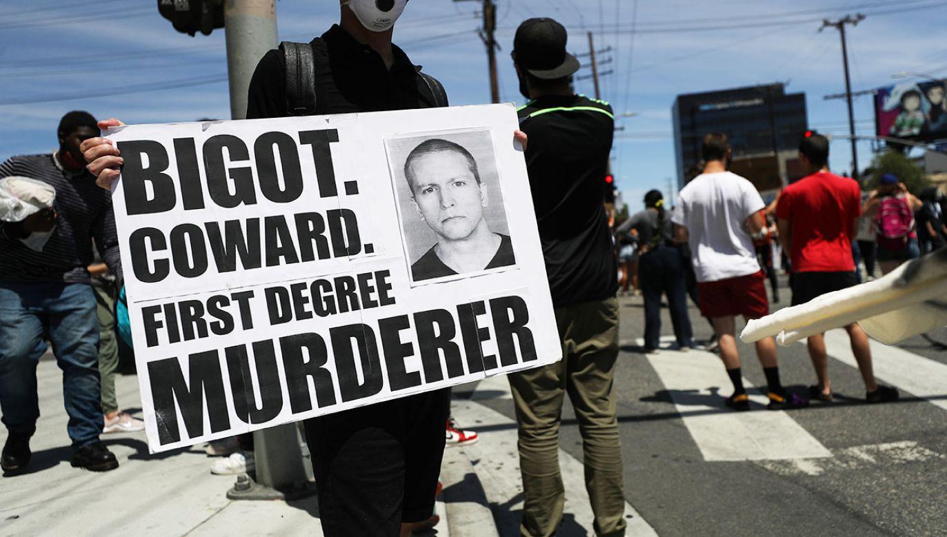 Chauvinowi wymierzono karę 22,5 roku więzienia (fot. Mario Tama/Getty Images)