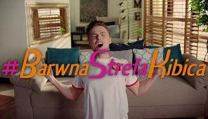 #BarwnaStrefaKibica