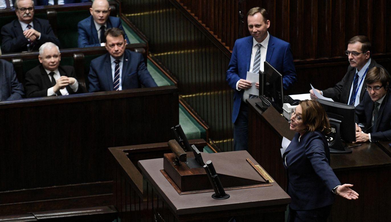 Sondaż przeprowadzono w dniach 23 i 24 stycznia (fot.PAP/Marcin Obara)