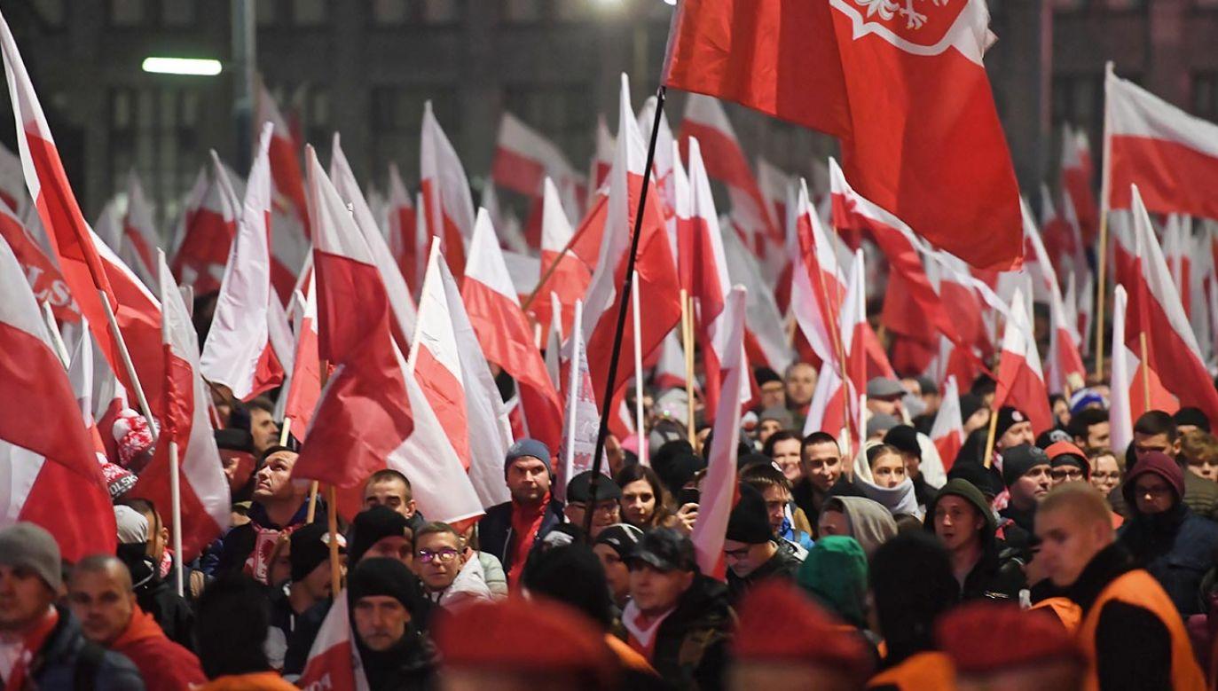 Wiadomo, kogo poprze Robert Bąkiewicz (fot. PAP/Piotr Nowak)