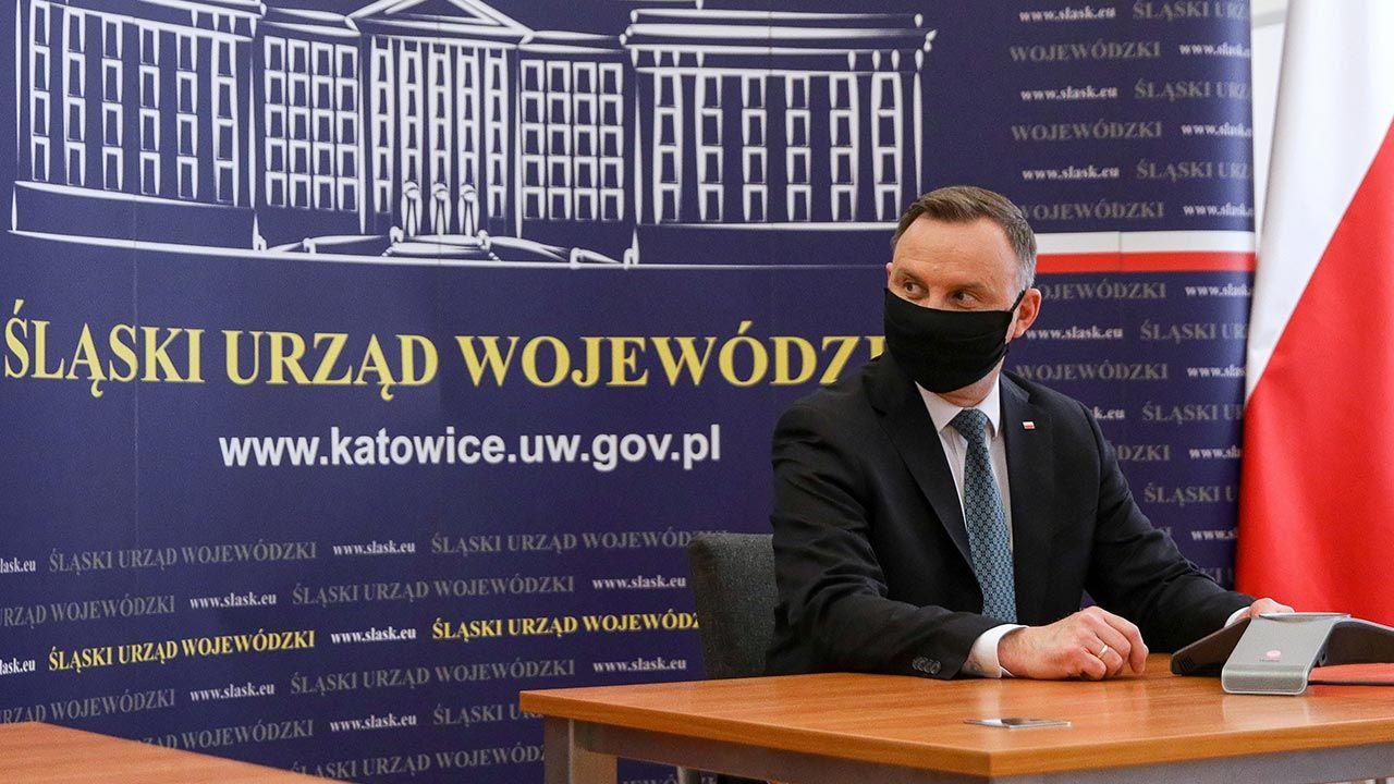 Prezydent udzielił wywiadu Polskiej Agencji Prasowej  (fot. PAP/Krzysztof Sitkowski/KPRP)