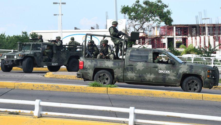 Meksyk toczy wojnę z przestępczością zorganizowaną (fot. PAP/EPA/LUIS GERARDO MAGANA / EL DEBATE DE HANDOUT)