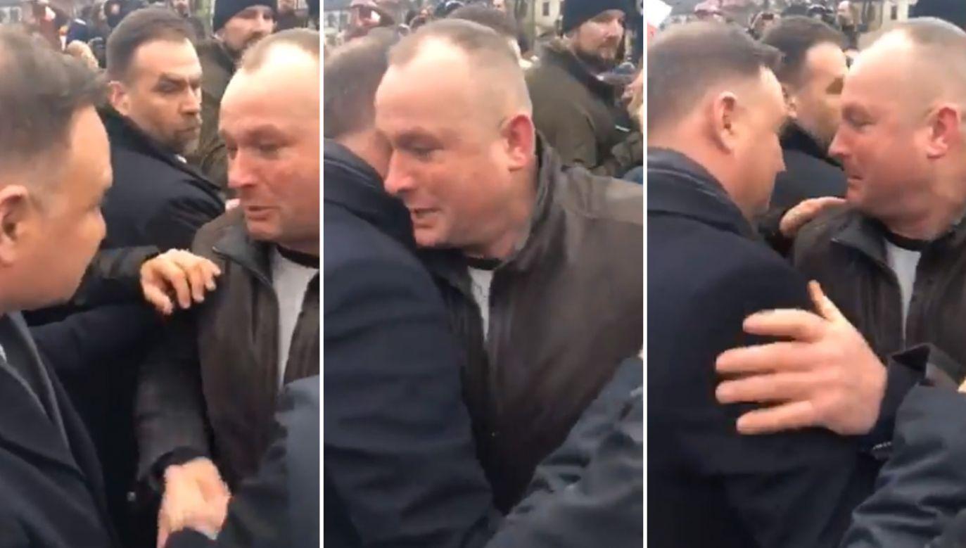 Do zdarzenia doszło w Łowiczu (fot. Twitter/ Marcin Kędryna)
