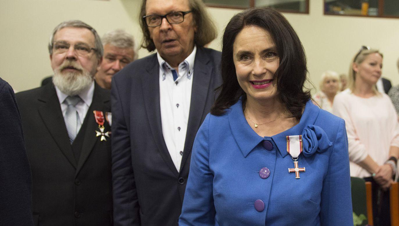 Wojciechowska van Heukelom została odznaczona za działalność opozycyjną w PRL. Obecnie broni praw lokatorów (fot. arch.PAP/Grzegorz Michałowski)