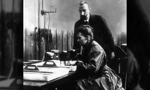 Pierre i Maria Curie (fot.  Central Press/Getty Images)