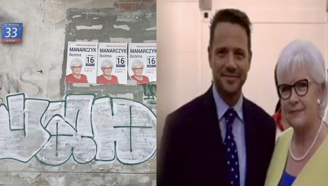 Kim jest Bożena Manarczyk, doradca podatkowy i radna Koalicji Obywatelskiej, a prywatnie zagorzała hejterka na Facebooku? (fot. TVP Info)
