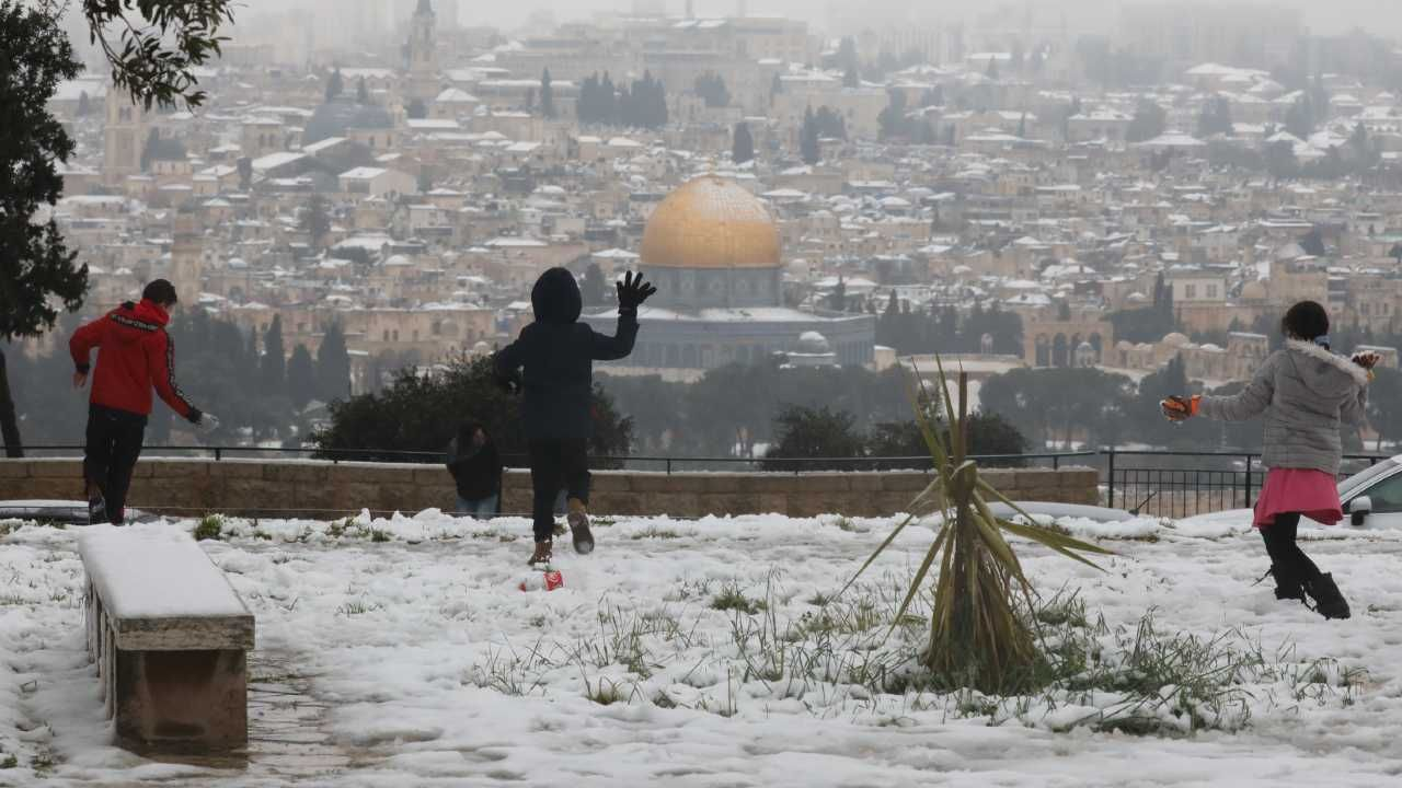 Izrael zmaga się z własną historią (fot. PAP/EPA/ABIR SULTAN)