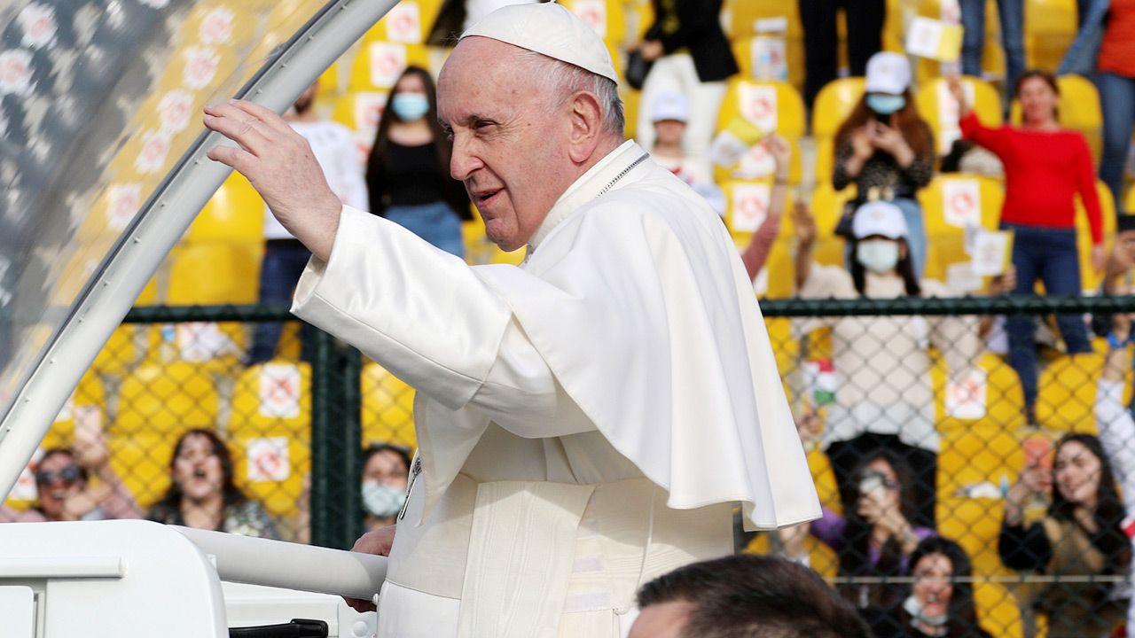 Pielgrzymkę papieża w Iraku uznaje się za historyczną (fot. REUTERS/Azad Lashkari)