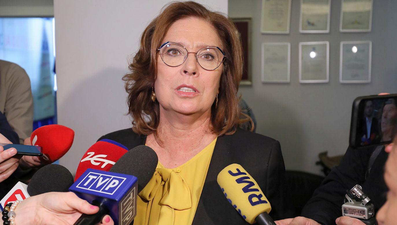 Małgorzata Kidawa-Błońska (fot.  PAP/Paweł Supernak)