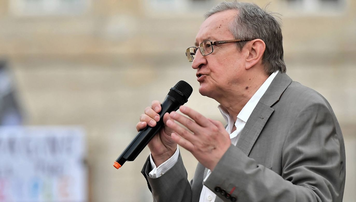 Józef Pinior jest oskarżonym w aferze korupcyjnej  (fot. arch. PAP/Maciej Kulczyński)