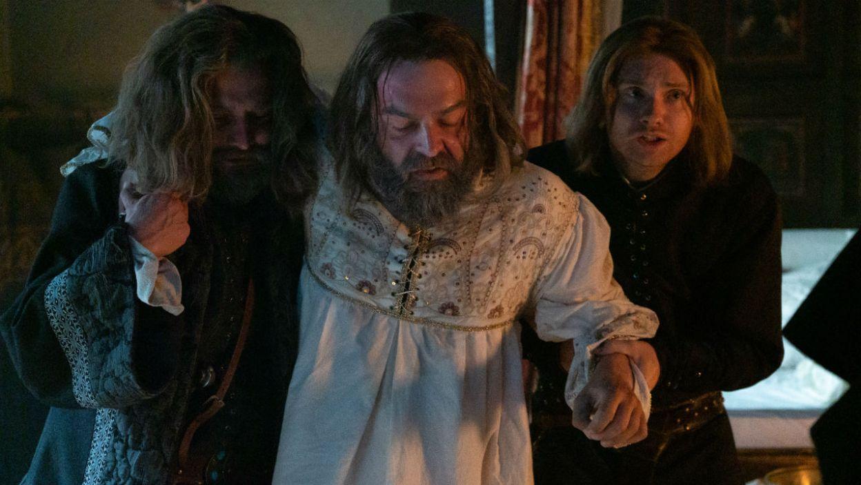 Władca zdążył przed śmiercią spisać testament i usynowić Kaźka, potomka jego córki Elżbiety (fot. TVP)