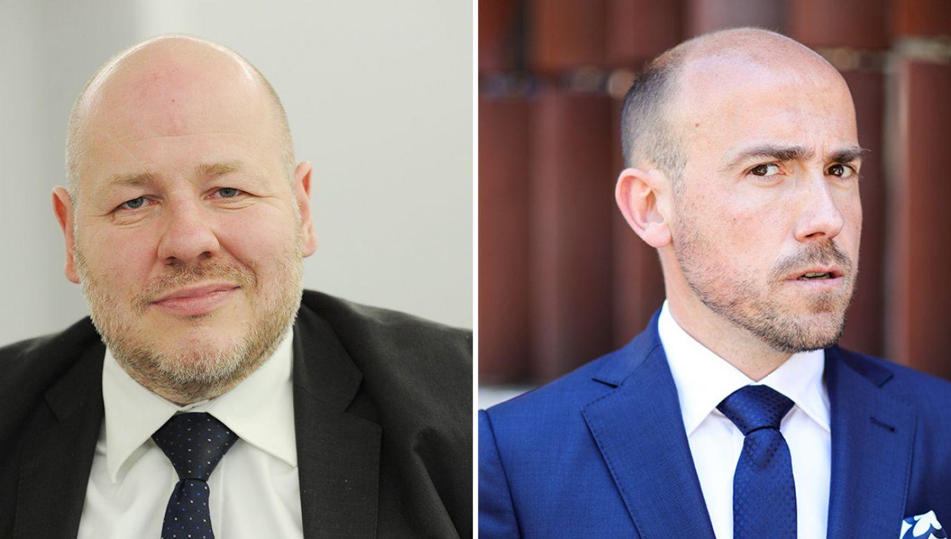 Senator PSL Jan Filip Libicki o trudnej sytuacji przewodniczącego PO Borysa Budki (fot. PAP/Marcin Obara; Getty Images)