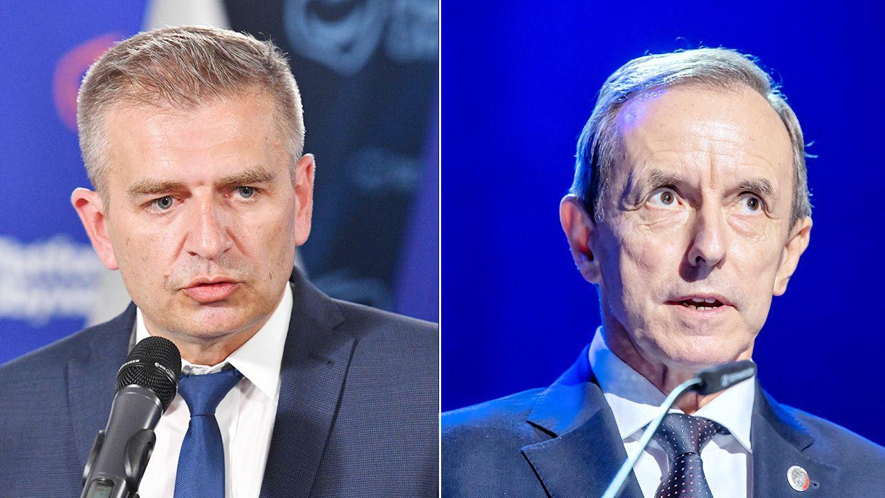 Co o szpitalach mówili Arłukowicz i Grodzki? (fot. PAP/Radek Pietruszka, Tytus Żmijewski)