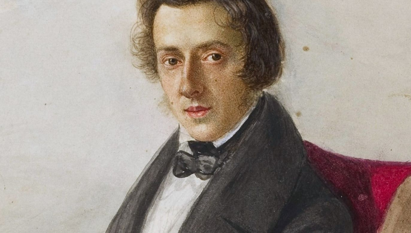 Portrait of Fryderyk Chopin by Maria Wodzińska Photo: Wikimedia Commons