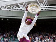 Radość Sereny była ogromna (fot. Getty Images)