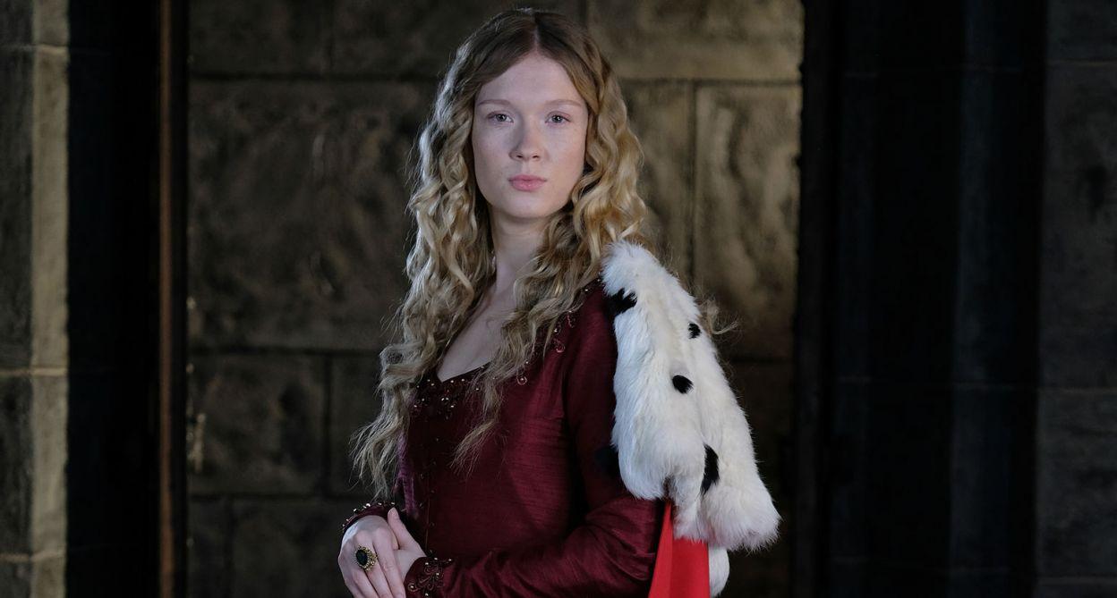 W roli Aldony wystąpiła Marta Bryła (fot. TVP)